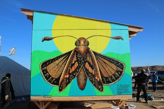 Dakota skipper mural