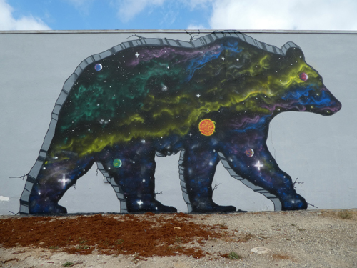 Grizzly bear murals