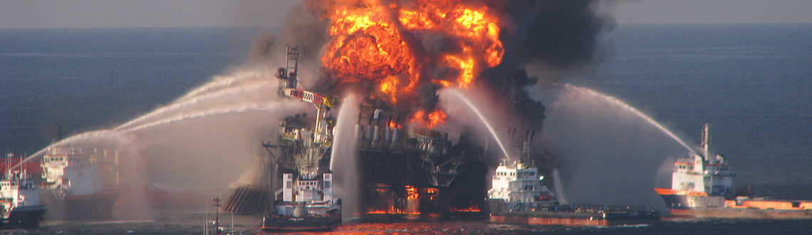 Major Oil Spills in the Gulf and Other U S  Waters