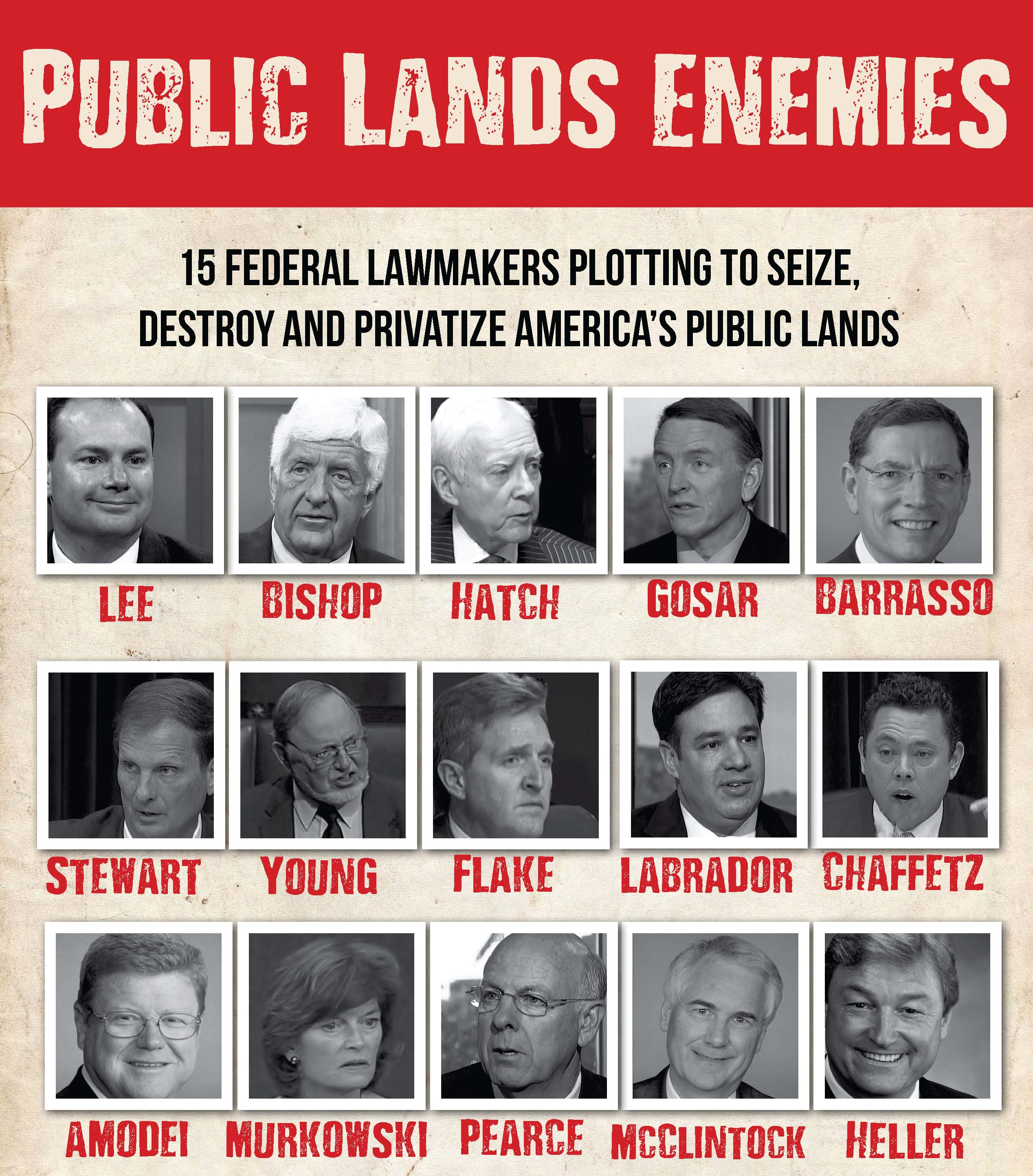Public Lands enemies