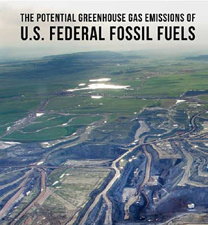 The Potential Greenhouse Gas Emissions of U.S. Federal Fossil Fuels