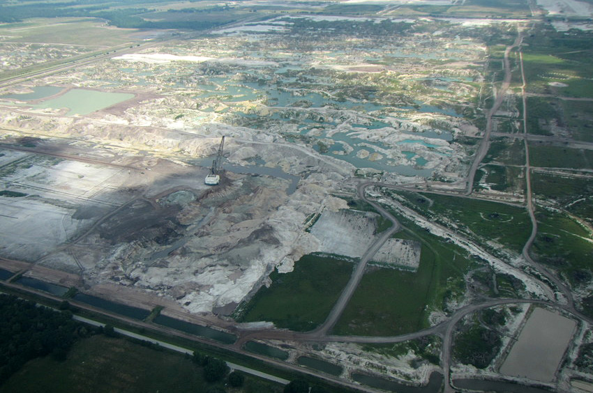Florida phosphate mining