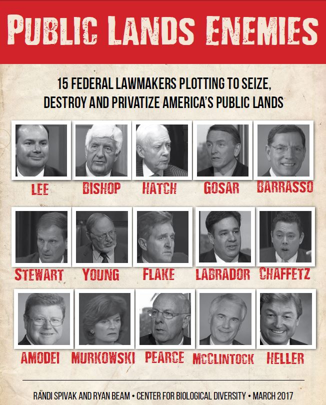 Public lands enemies