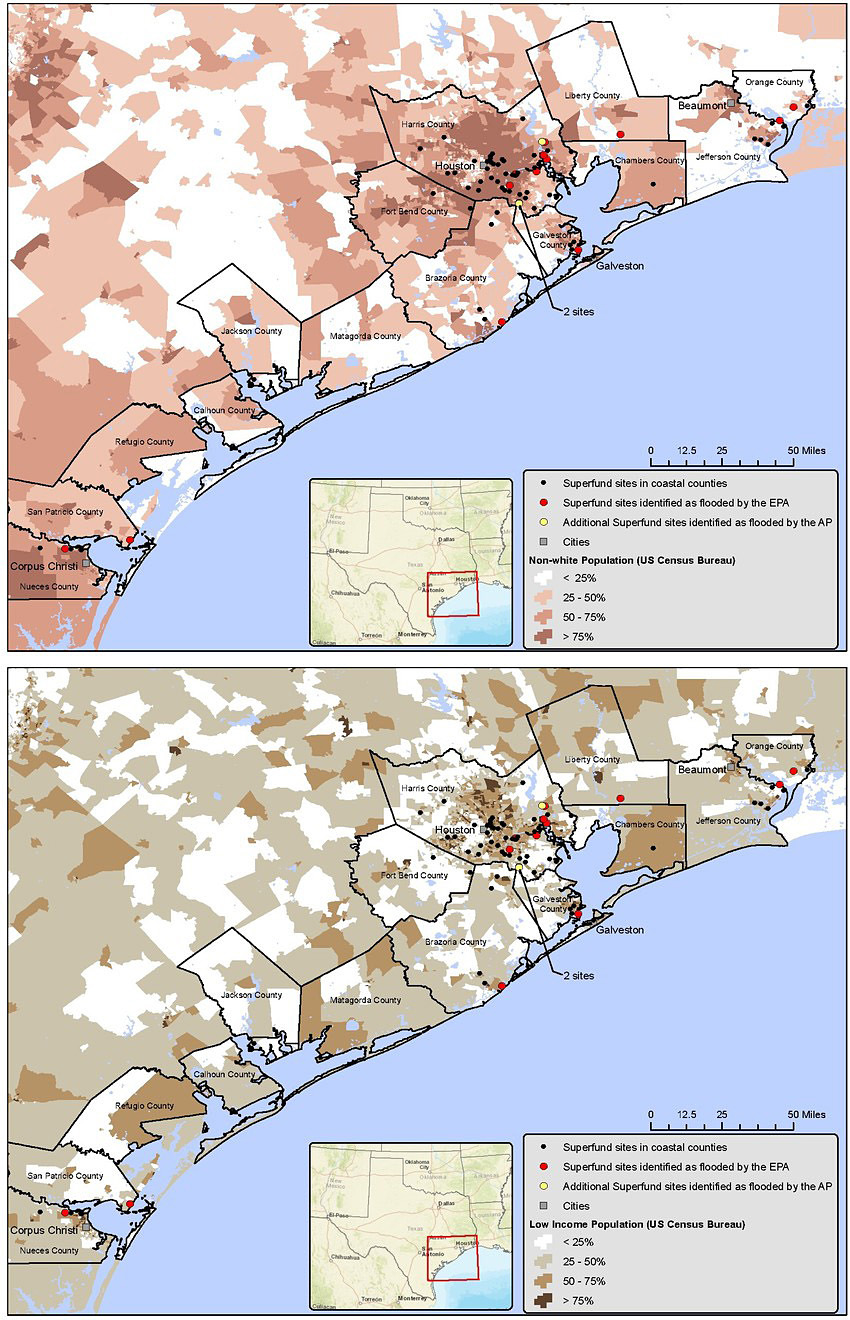 Superfund maps