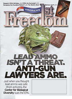 NRA magazine cover